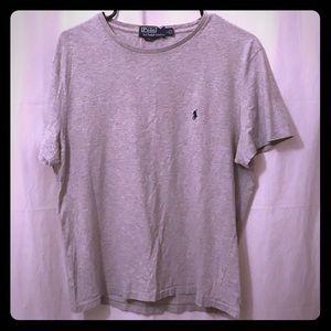 Polo Ralph Lauren Gray T Shirt Size L